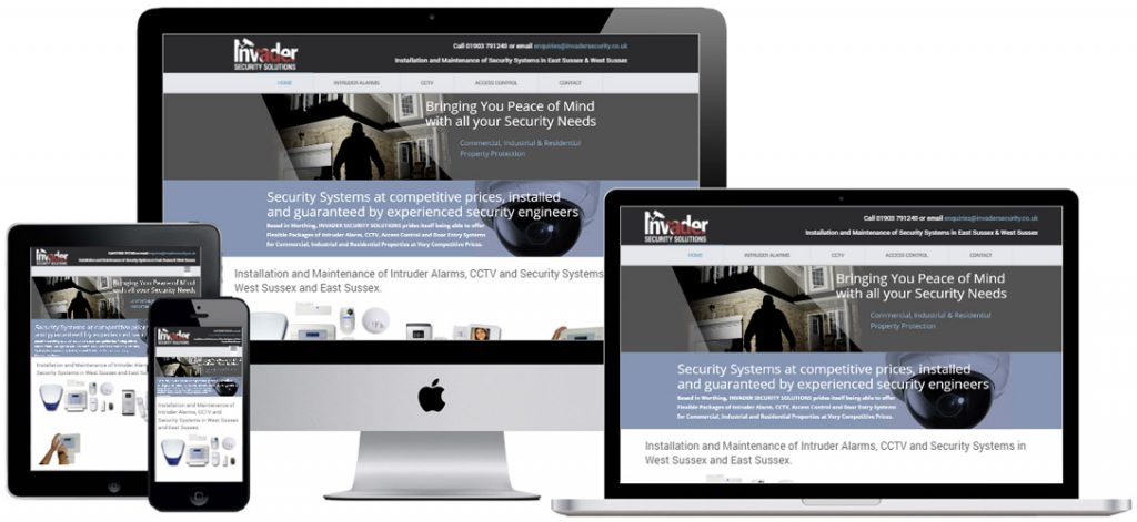 Website Design in Worthing, West Sussex