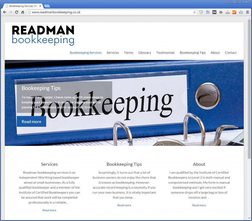 Readman Bookkeeping