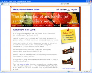Websites for Catering Companies