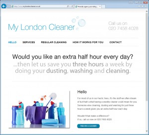 Websites for Cleaners