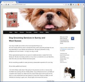 Websites for Dog Groomers