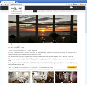 Websites for Hotels and Bed and Breakfasts