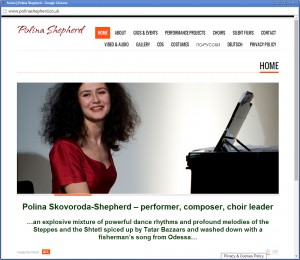 Websites for Performers and Singers