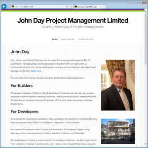 Websites for Project Managers and Quantity Surveyors