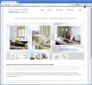 Websites for Soft Furnishings, Curtains and Interior Decor