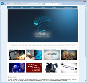 Websites for Video Production Companies
