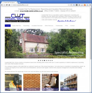 Websites for Wall Repointing, Cavity Wall Ties and Repairs