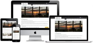 Hotel website with online availability