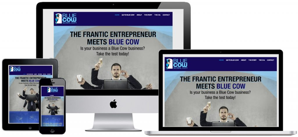 Website for business training