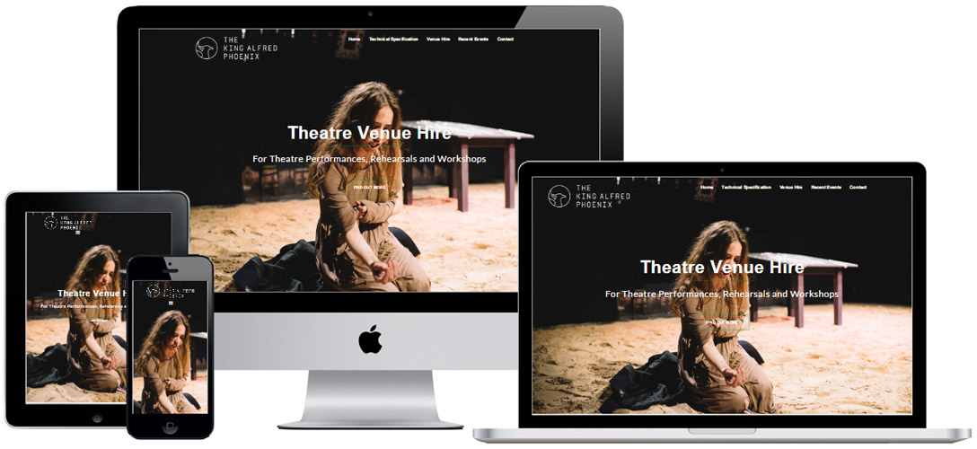 Website for theatre hire