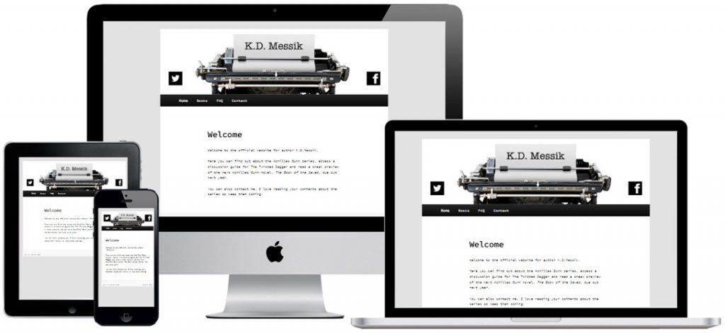 Website for writer